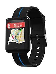 baratos -Indear F5 Pulseira inteligente Android iOS Bluetooth Esportivo Impermeável Monitor de Batimento Cardíaco Medição de Pressão Sanguínea Tela de toque Podômetro Aviso de Chamada Monitor de Atividade