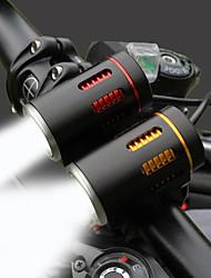 Недорогие -Светодиодная лампа Велосипедные фары Передняя фара для велосипеда Велоспорт Водонепроницаемый Вращающийся Прочный Литий-ионная аккумуляторная батарея 2000 lm Белый