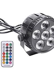 baratos -Luzes LED de Cenário DMX 512 / Master / Slave / Ativo por Som para De Festa / Palco / Bagels Fácil de Transportar / Leve