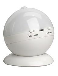 Недорогие -BRELONG® 1шт LED Night Light RGB + белый USB Диммируемая / Градиент цвета / Датчик человеческого тела 5 V