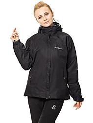 abordables -Femme Anorak 3 en 1 de plein air Printemps Automne Hiver Pare-vent Etanche Doublure Polaire Garder au chaud Tenues de Sport Vêtement Térylène combinaisons Ski Camping / Randonnée Sport de détente
