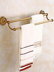 Недорогие -Держатель для полотенец Креатив Античный Латунь 1шт 2-х опорная балка На стену