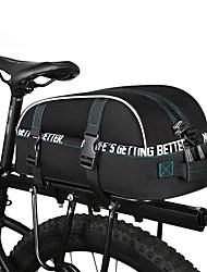 baratos -ROSWHEEL 8 L Mala para Bagageiro de Bicicleta / Alforje para Bicicleta Prova-de-Água, Á Prova-de-Chuva, Multi Camadas Bolsa de Bicicleta Ripstop 600D Bolsa de Bicicleta Bolsa de Ciclismo Ciclismo