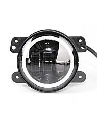 abordables -OTOLAMPARA 1 Pièce Aucune Automatique Ampoules électriques 35 W LED Haute Performance 2800 lm 3 LED Feu Antibrouillard Pour Jeep / Dodge Wrangler / Magnum / PT Cruiser Toutes les Années