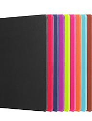 Недорогие -Кейс для Назначение Lenovo Ленова Йога Tab 3 10.1 (YT3-X50F / M) со стендом / Флип / Оригами Чехол Однотонный Твердый ПК