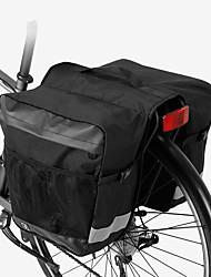 Недорогие -ROSWHEEL 30 L Сумка на багажник велосипеда / Сумка на бока багажника велосипеда Водонепроницаемость, Дожденепроницаемый, Компактный Велосумка/бардачок Полиэстер Велосумка/бардачок Велосумка