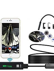 Недорогие -Wi-Fi эндоскоп 1200 P высокой четкости 7 м жесткая линия мобильный телефон эндоскоп IOS эндоскоп