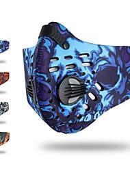 Недорогие -Спортивная маска Лицевая Маска Повязки от пота Красный Синий Серый Велоспорт Фитнес, бег и йога Съемный руно Катание на лыжах На открытом воздухе Велосипедный спорт / Велоспорт Универсальные камуфляж