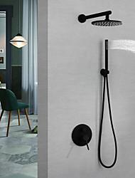 Недорогие -Смеситель для душа / Смеситель для раковины в ванной комнате - современный настенный смеситель для душа