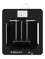 Недорогие -tronxy c5 настольные 3D-принтеры с высокой точностью с двумя z-образными стержнями с ЖК-экраном