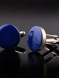 abordables -Noir / Bleu Boutons de manchettes Alliage Métallique / Classique Unisexe Bijoux de fantaisie Pour Travail
