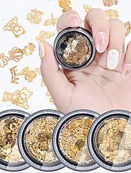billige -1 pcs Pailletter Bedste kvalitet / Slankt design Jul Negle kunst Manicure Pedicure Jul / Daglig Mode