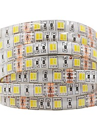 Недорогие -Ziqiao dc12v светодиодные со светом 5 м / рука 300leds светодиодная лента 5050см гибкая водонепроницаемая светодиодная лампа декоративная лампа 5050 светодиодные ленты