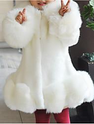 Χαμηλού Κόστους Παιδικά Μοδάτα Ρούχα-Παιδιά / Νήπιο Κοριτσίστικα Μονόχρωμο Μακρυμάνικο Κοστούμι & Σακάκι
