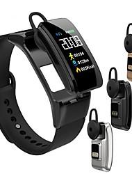 Недорогие -KUPENG B31 Умный браслет Android iOS Bluetooth Спорт Пульсомер Измерение кровяного давления Сенсорный экран / Израсходовано калорий / Длительное время ожидания / Хендс-фри звонки / Педометр