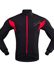 baratos -Homens Jaqueta para Ciclismo Moto Jaqueta Clássico Preto / Vermelho Roupa de Ciclismo / Micro-Elástica