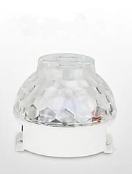 Недорогие -новые сценические светильники светодиодные светильники кристалл волшебный шар общежитие ди огни вращающийся красочный светильник комната ктв вспышка