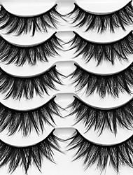 abordables -Cil 10 pcs Multifonction Pro Naturel Bouclé Fibre Entraînement Epais - Maquillage Maquillage Quotidien Maquillage d'Halloween Maquillage de Fête Haute qualité Cosmétique Accessoires de Toilettage