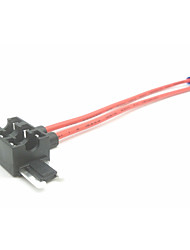 Недорогие -держатель плавкого предохранителя вставки для автомобиля / зарядное устройство для плавких вставок / 2-контактный плавкий предохранитель 3 ряда двойной провод (без плавкого предохранителя)