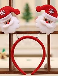 Недорогие -Рождество Праздник пластик Круглый Для вечеринок Рождественские украшения