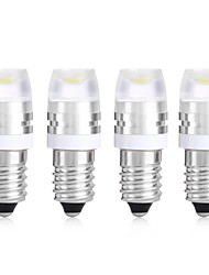 Недорогие -SENCART 4шт E11 Мотоцикл / Автомобиль Лампы 1 W COB 120 lm 1 Светодиодная лампа Лампа поворотного сигнала / Мотоцикл / Внутреннее освещение Назначение