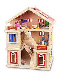Недорогие -Конструкторы Cool утонченный Взаимодействие родителей и детей деревянный Все Игрушки Подарок 1 pcs