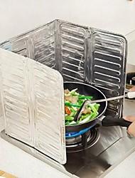 baratos -Cozinha Produtos de limpeza Papél Alumínio Autocolantes à prova de óleo Gadget de Cozinha Criativa 1pç