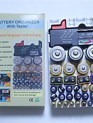 Недорогие -1 pcs Пластик Тестер батареи Удобный / Измерительный прибор