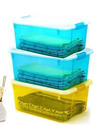 Недорогие -PP Прямоугольная Новый дизайн Главная организация, 3шт Коробки для хранения / Шкафчики / Организация одежды