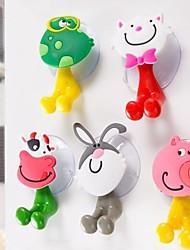 Недорогие -Крючки Для детей / Мультипликация / Творчество Мультяшная тематика ПВХ 1шт Зубная щетка и аксессуары
