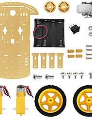Недорогие -умный робот автомобильный шасси комплект для Arduino