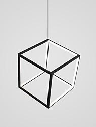 Недорогие -CONTRACTED LED геометрический / Оригинальные Люстры и лампы Рассеянное освещение Окрашенные отделки Алюминий Регулируется, Новый дизайн 110-120Вольт / 220-240Вольт Теплый белый / Холодный белый