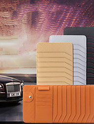 Недорогие -де ран фу автомобиль навес для компакт-диска клип маленький овчины складной угол компакт-диск автомобиля компакт-диск пакет оптический диск рукав