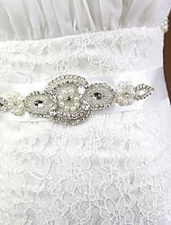 economico -Miscela polyester / cotone Matrimonio / Occasioni speciali Fusciacca Con Con diamantini / Perle di imitazione Per donna Fasce