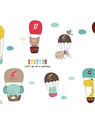Недорогие -Декоративные наклейки на стены - Наклейки для животных Животные / Праздник Столовая / Детская
