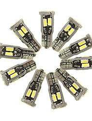 Недорогие -SENCART 10 шт. T10 Автомобиль Лампы 5 W SMD 5630 800 lm 10 Светодиодная лампа Внутреннее освещение Назначение Дженерал Моторс Все года