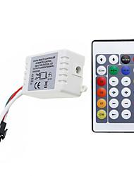 baratos -1pç Acessório Light Strip / 24 teclas / RF sem fio Plástico Controle para luz de tira conduzida do RGB