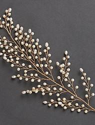 billige -Imiteret Perle Hovedkæde med Imitationsperler 1 stk Bryllup / Speciel Lejlighed Medaljon