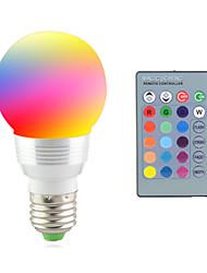 Недорогие -2 Вт. 2700-7000 lm E14 E26/E27 LED PAR-прожектор 1 светодиоды Высокомощный LED Декоративная На пульте управления RGB AC 85-265V