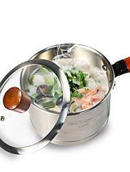 Недорогие -Кастрюли и сковородки 304 Нержавеющая сталь Многофункциональный Для приготовления пищи Посуда