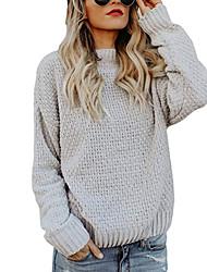 povoljno -ženska vunena jakna s dugim rukavima - čvrste boje
