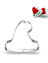 Недорогие -рождественская шляпа печенье резак fondant нержавеющая сталь торт декор плесень