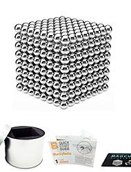 Недорогие -512 pcs 5mm Магнитные игрушки Магнитные шарики Магнитные игрушки Сильные магниты из редкоземельных металлов Магнитный / Стресс и тревога помощи