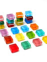 Недорогие -24-pack холодильник магниты милый холодильник магниты кухня красочные магниты декоративные офисные магниты забавные стеклянные магниты доска сухое стирание магниты