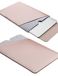 Недорогие -Микроволокно Чехол для ноутбука Пуговицы Черный / Светло-золотой / Коричневый