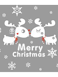 Недорогие -Декоративные наклейки на стены - Наклейки для животных Животные / Рождество В помещении / Детская