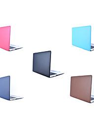 """Недорогие -MacBook Кейс Однотонный Кожа PU / Настоящая кожа / ПВХ для Новый MacBook Pro 15"""" / Новый MacBook Pro 13"""" / MacBook Pro, 15 дюймов"""