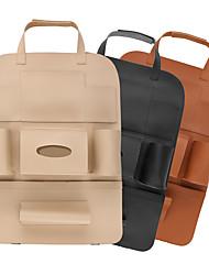 Недорогие -de run fu сумка для хранения автокресла подвеска спинки сиденья многофункциональная кожаная спинка рюкзака
