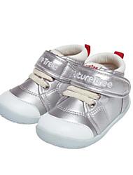 abordables -Garçon / Fille Chaussures Faux Cuir Automne hiver Premières Chaussures / Botillons Bottes Scotch Magique pour Bébé Or / Argent / Rose / Bottine / Demi Botte