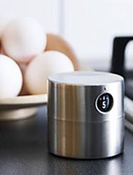 Недорогие -кухонный таймер для кормления из нержавеющей стали 60 мин.